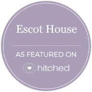 Escot House featured on Hitched