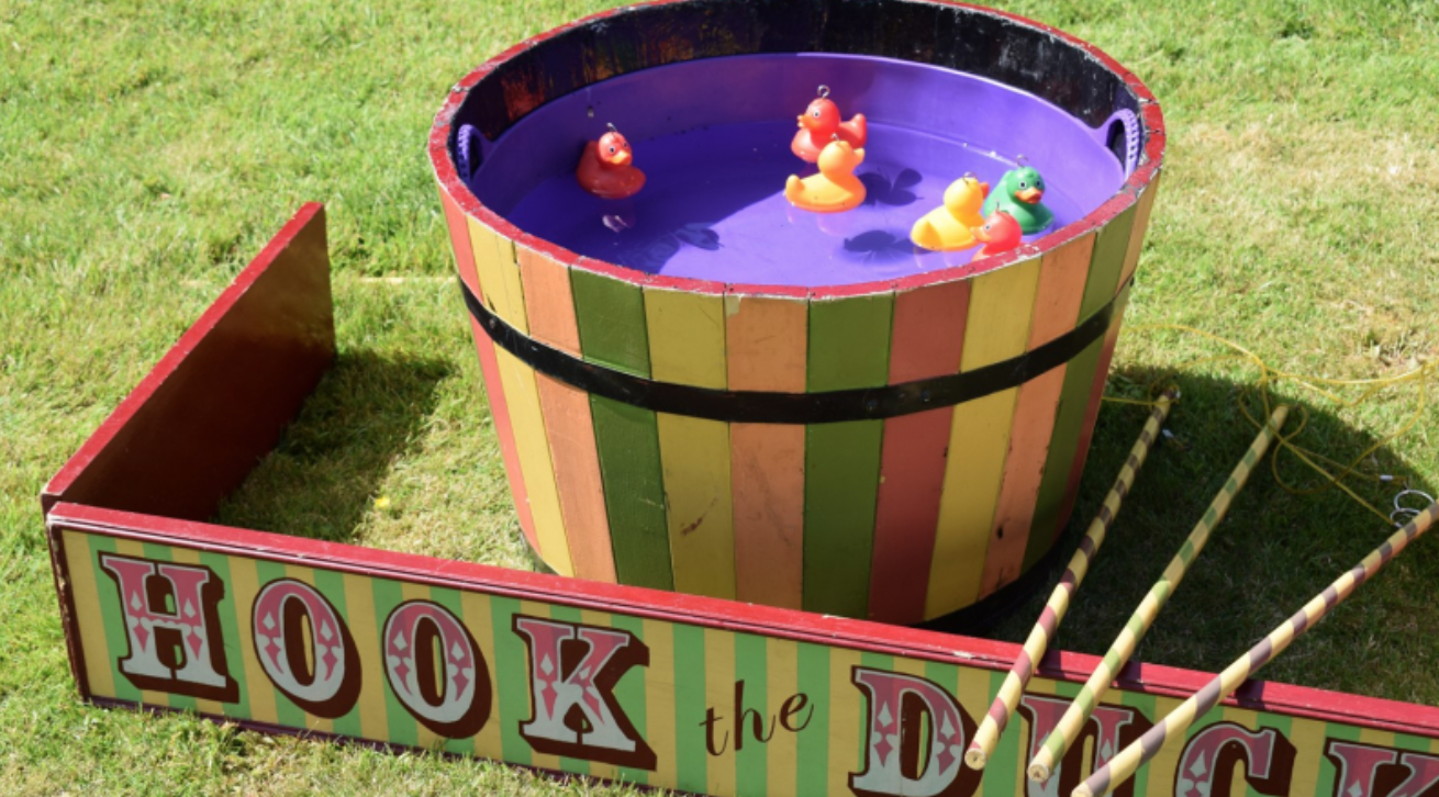 Hook a duck Escot weddings and events