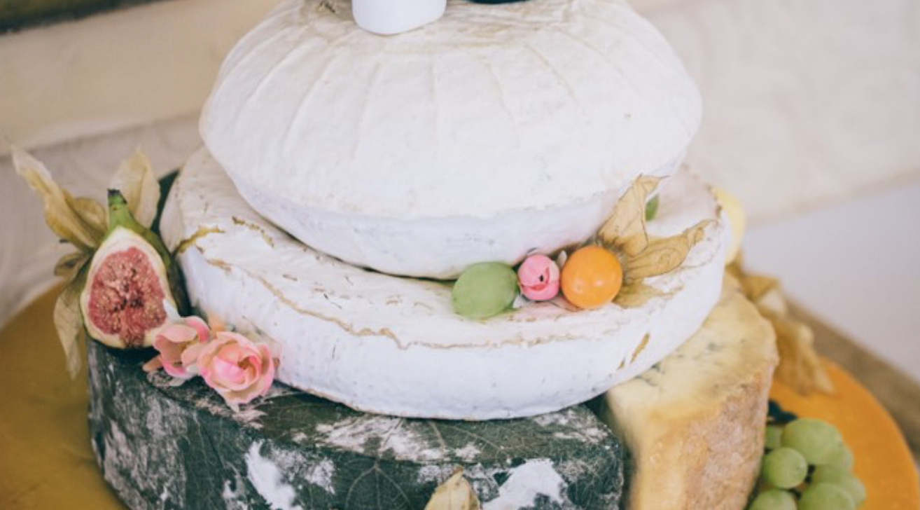 What's in a wedding cake?