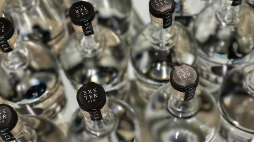 Exeter Gin wedding favours